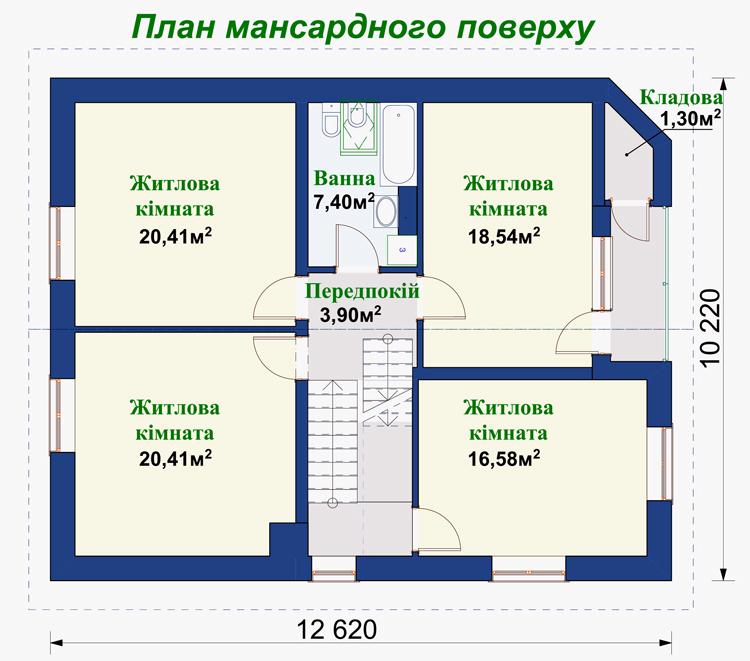 Загальна площа 281 7 м²