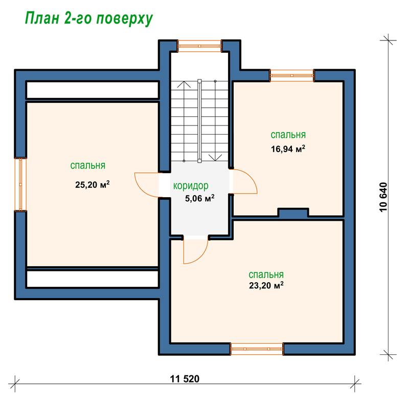 Загальна площа 130 3 м²