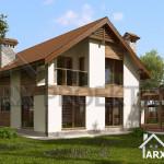 Проект будинку Сильвія3
