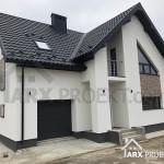 Проект дома с мансардой реализация
