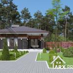 Відпочинковий будинок з сауною та цокольним поверхом