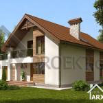 Проект будинку Сильвія2