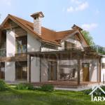 Проект будинку Сильвія4