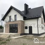 Проект дома Николь с мансардой и гаражом