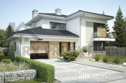 Проект двоповерхового будинку