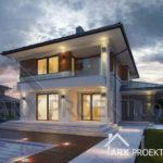Проект будинку з гаражом 11 на 15 Прімус
